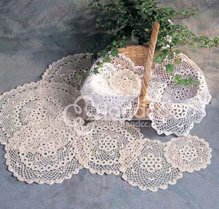 钩针桌布 hand china crochet
